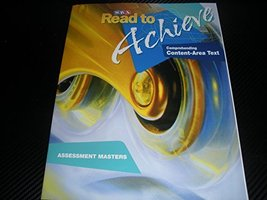 SRA Read to Achieve Comprehending Content-Area Text Assessment Masters [Paperbac