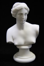 Bust of Venus De Milo Goddess Nude Naked Italian Statue Sculpture Made i... - $34.95