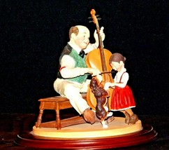 "1992 Days to Remember -  Norman Rockwell ""The Fiddler"" Figurine AA19-1611  Vinta"
