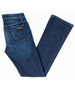 """Joes Icon Mid Rise Skinny Womens Jeans Dark """"Wintour"""" Wash Size 26/36 - $28.99"""