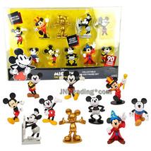 Year 2018 Disney 10 Pk Collectible 3 Inch Figure Set - Mickey The True Original - $39.99