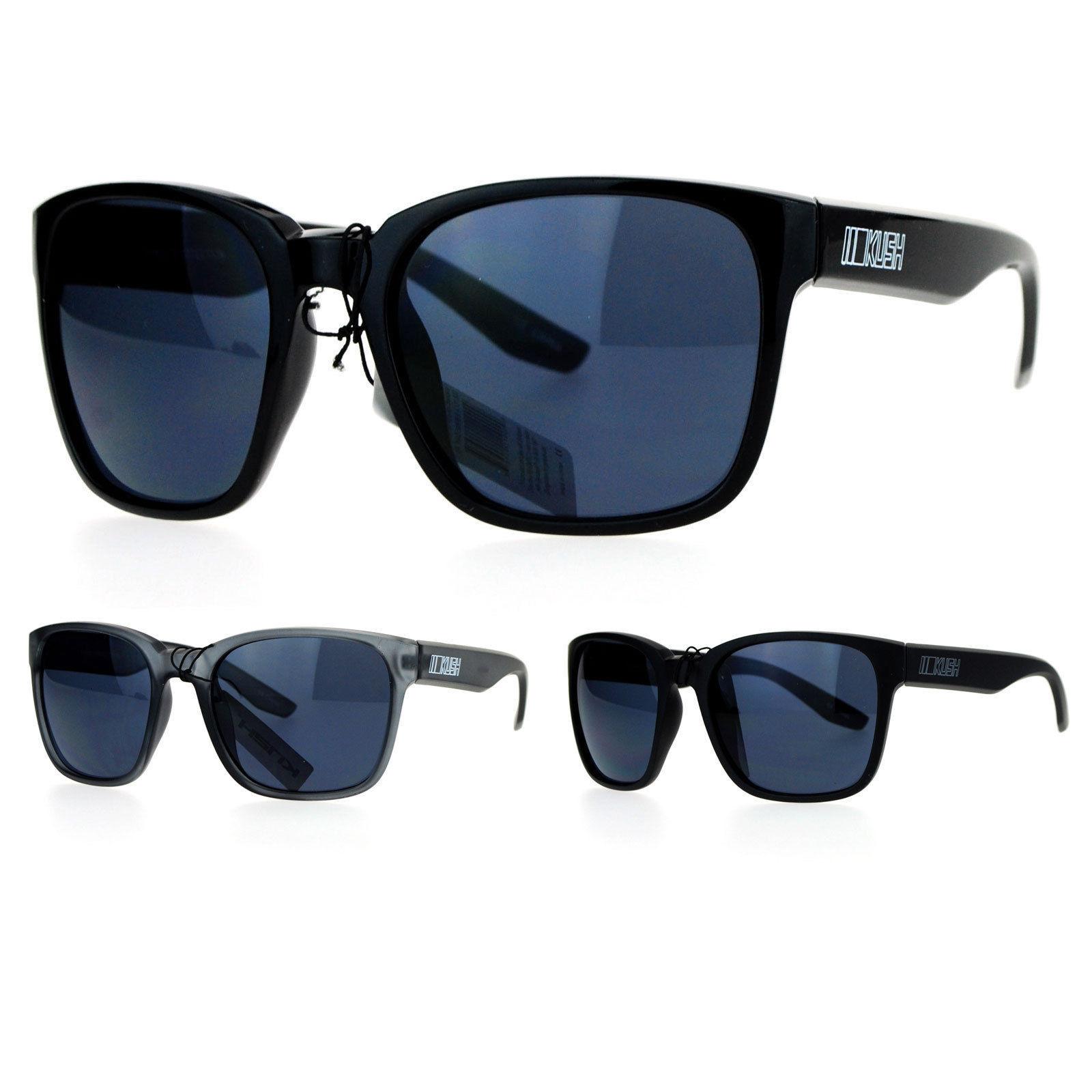 e5fbf681ea Kush Dark Lens Large Horn Rim Sport Gangster and 25 similar items. S l1600