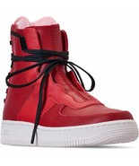 Nike Air Force 1 Red High Rebel XX Gym Red /Arctic Pink / White AO1525W ... - $40.45
