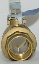Nibco S FP600A Lf 1 1/4 Inch Solder Lead Free Ball Valve Full Port image 2
