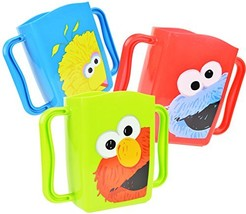 Set of 3 Sesame Street Juice Box Drink Holders Elmo, Cookie Monster, Big... - $14.79