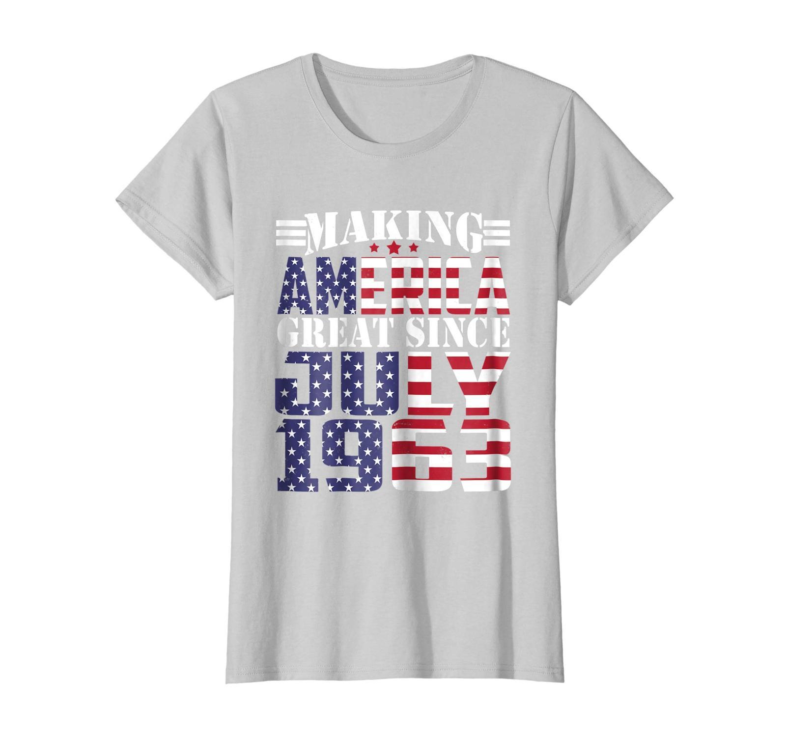 LoveShirt -  Make America Great Since July 1963 55th Birthday Shirt Gifts Wowen