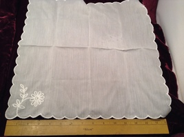 Assorted Lot of Antique Napkins in Various Colors/Sizes/Designs Some Applique  image 1