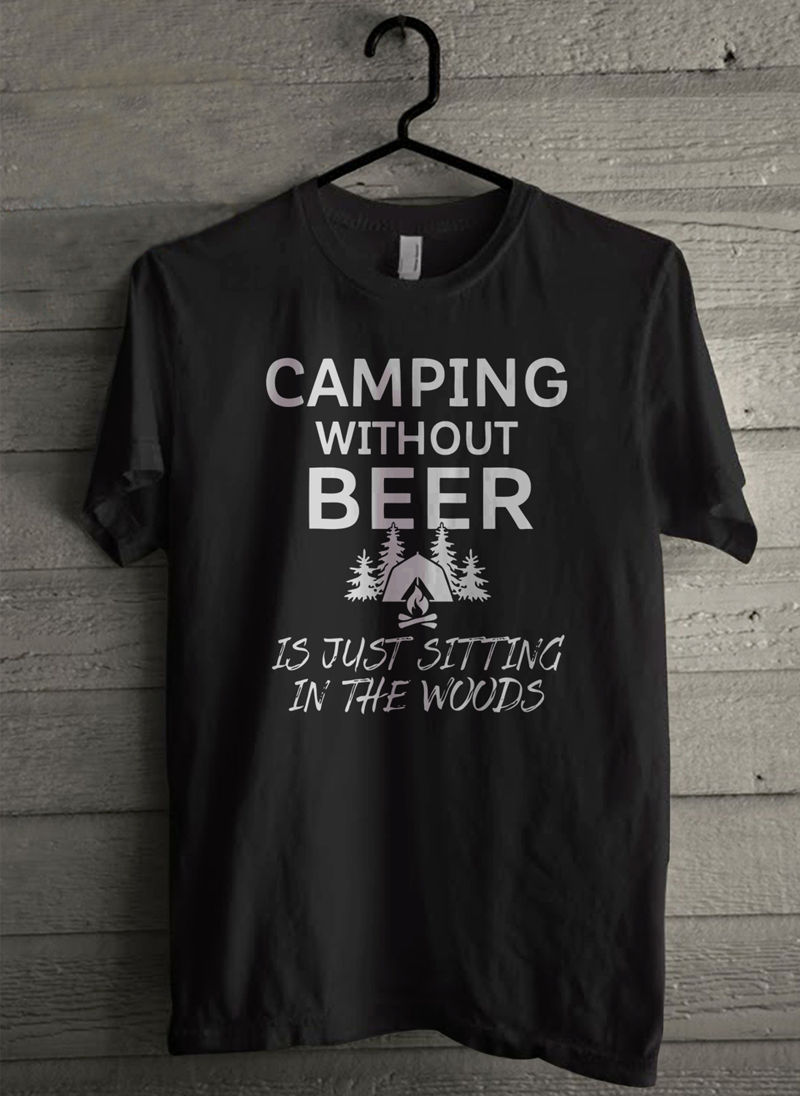 Camping without wood