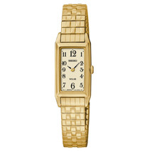 Seiko Solar Gold-Tone Expansion Ladies Watch SUP230 - $224.61 CAD