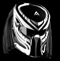 New Predator Helmet Motive White Line (Dot & Ece Certified) - $250.00