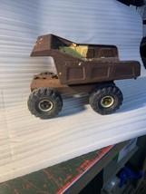 Rough Rust Roached Tonka Mighty Diesel XMB975 1980s Pressed Steel Dump Truck - $39.99