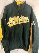 Majestic MLB Jacket Oakland Athletics Team Green sz XL - $59.39