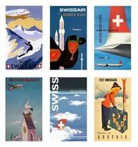 6 Swiss International Air Lines (Swissair) - Set A - $19.99