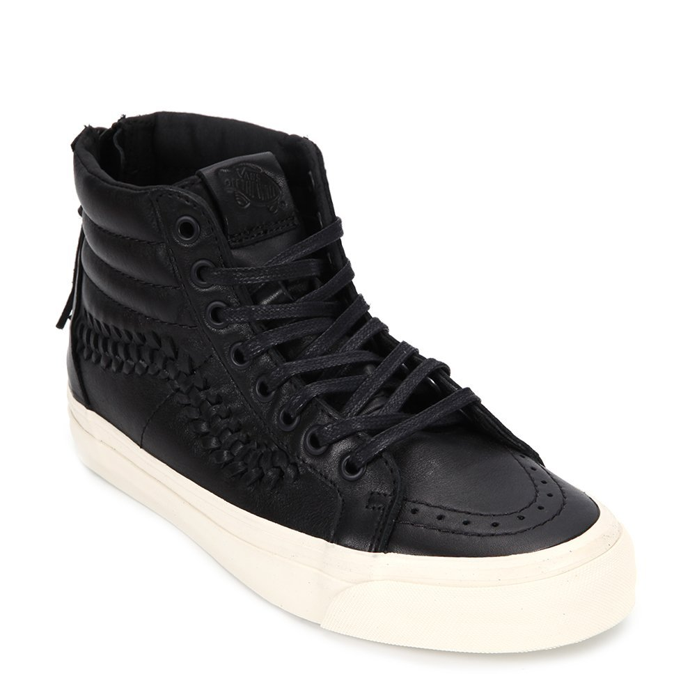 Vans Men's UA SK8-Hi Zip Weave DX Sneakers VN0A38GSL3A Black, 11 D (US)