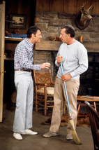Tony Randall and Jack Klugman in The Odd Couple cleaning up house 18x24 Poster - $23.99