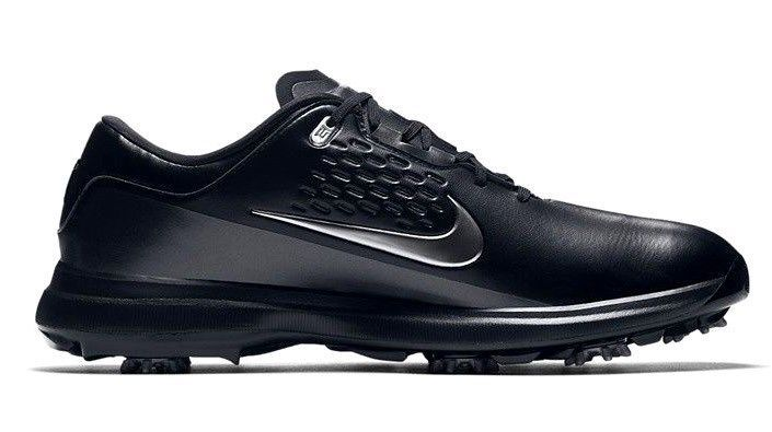 26a0e593983ce NIKE AIR ZOOM TW71 TIGER WOODS GOLF SHOES BLACK GREY SIZE 9 NEW (AA1990