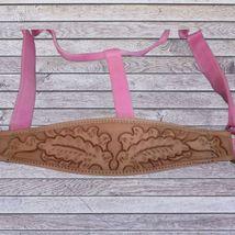 Abetta Bronc Nose Nylon Halter Pink Horse Size image 2