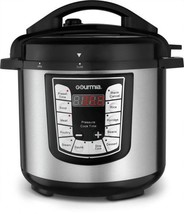 Gourmia Smartpot Touchpad Steel Pressure Cooker 6 qt Stainless Steel/Bla... - €61,17 EUR