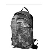 beetle shape creative teenagers cool snakeskin pattern PU backpack - $45.00