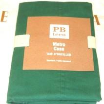 Pottery Barn Teen Metro Case Pillow Sham Bright Green Standard  26x20  NIP - $23.74