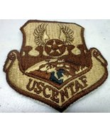 Rare US AIR FORCE AF SEW ON EMBROIDERED PATCH USCENTAF CENTRAL COMMAND D... - $6.99