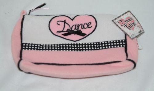Ganz H11020 Dance Time Pink Black Accessory Case Zipper