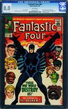 Fantastic Four #46 CGC 8.0 wp 1966 Marvel Inhumans Black Bolt 0259331007 - $873.00