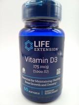 Life Extension Vitamin D3 7000 IU  - 60 Softgels - $12.34