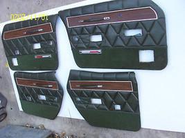 1969 1970 MERCURY MARQUIS DOOR PANELS RIGHT LEFT FRONT REAR USED OEM 4 PCS - $672.21