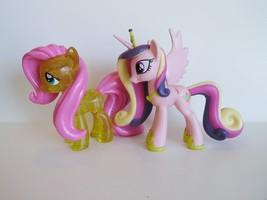 My Little Pony G4  Funko Vinyl Cadance Glitter Fluttershy Lot *Damaged* - $20.00