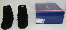 I Love Yo Kids AVA 92T Girls Fringe Boot Black Zip Up Size Nine - $30.00