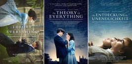 "The Theory of Everything 2014 Movie Poster Stephen Hawking 13x20 24x36"" 32x48"" - $10.88+"