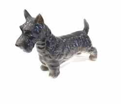 Vintage Scottish Terrier Porcelain Ceramic Figurine Made In Japan Napco - $29.99
