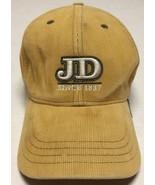 John Deere Hat Farming Agriculture Equipment Cap Corduroy Moline Illinoi... - $10.93