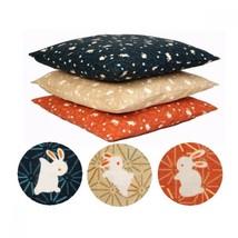 Zabuton Japanese floor cushion pillow cover Meisen Usagi 59*63cm any color - $31.62
