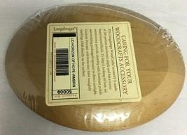 Longaberger 2003 Horizon of Hope Basket Lid ~ Warm Brown Stain  New - $13.67