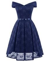 Belle Poque Plus Size Off-Shoulder Swing A-Line Dress Off Shoulder Pleat... - $40.62