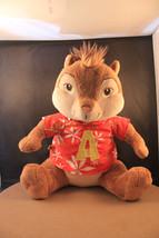 "Alvin And The Chipmunks 13"" ALVIN Build A Bear Hawaiian Shirt Stuffed Pl... - $10.69"