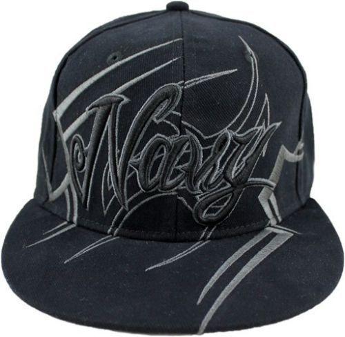 NEW US NAVY TRIBAL DESIGN HAT - MILITARY BLACK QUALITY BASEBALL CAP