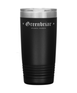 Greenbriar Double Wall Vacuum Insulated Stainless Steel Tumbler 20 OZ En... - $34.99