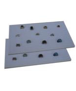 "2 Piece 144 Jewelry White Insert Display Pads  14 3/4"" x 7 3/4"" x 1/2"" - $14.95"