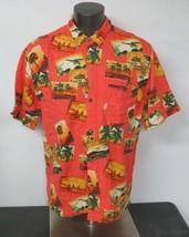 Mens Joe Marlin Cotton Rayon Hawaiian Shirt Size XL Short Sleeve Button ... - $21.77