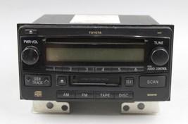 03 04 05 TOYOTA 4RUNNER AM/FM RADIO CD CASSETTE PLAYER RECEIVER OEM - $59.39
