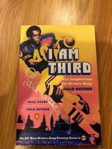 I Am Third The Inspiration Book Signed Auto GALE SAYERS CHICAGO BEARS - $49.49