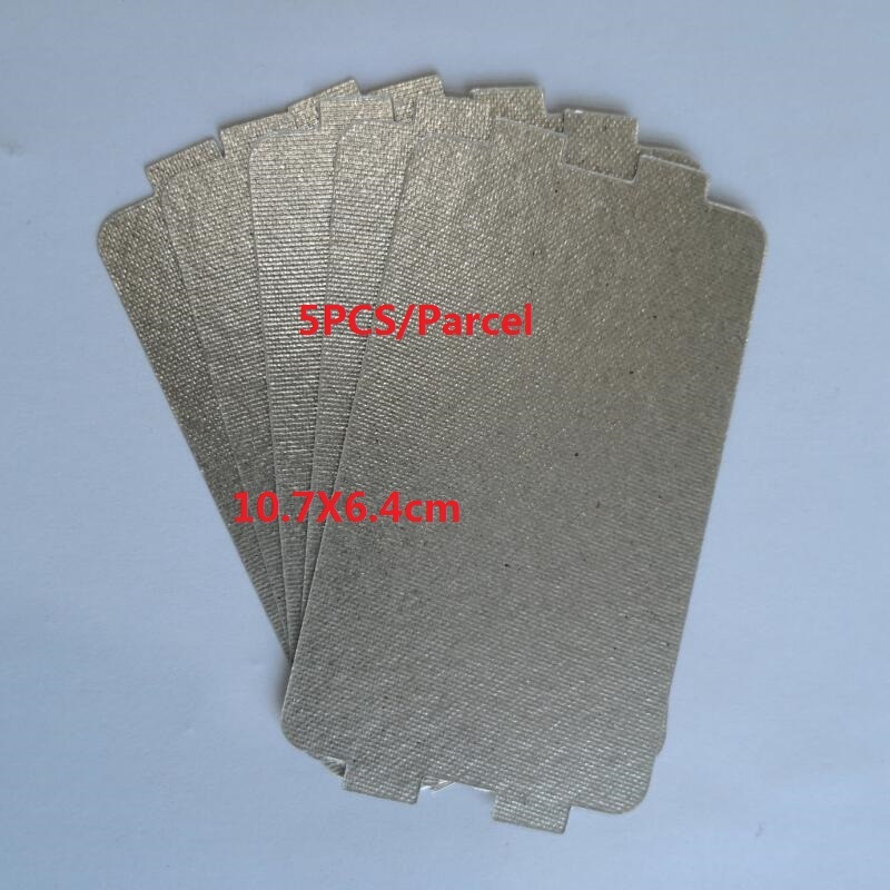 Quality 0 4mm Thickness Microwave Oven Parts Mica Plate 6 4x10 7cm