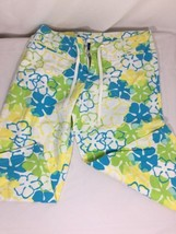 Op Women Multiple Color Short Size 9 Floral Long Shorts Summmer Style Bi... - $12.19