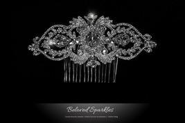 Lanetta Vintage Art Deco Hair Comb | Swarovski Crystal - $120.95