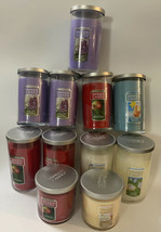 LOT OF (11) NEW! Yankee Candles Assorted Flavors 12oz Jars See Pictures - $99.00