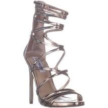 Steve Madden Flaunt Strappy Heeled Sandals, Rose Gold, 5.5 US - £24.50 GBP
