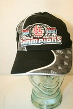 2006 World Series Champions STL Cardinals MLB fitted New Era Youth Cap Hat Black - $29.95